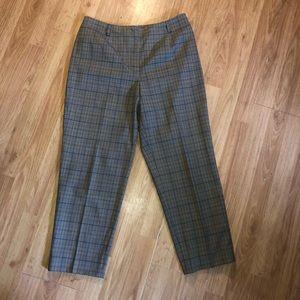 Talbots Petites Cropped Pants Size 8